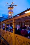 Ευρώπη, Ηνωμένο Βασίλειο, Αγγλία, Lancashire, Μάντσεστερ, Αλβέρτος Square, αγορά Χριστουγέννων Στοκ εικόνες με δικαίωμα ελεύθερης χρήσης