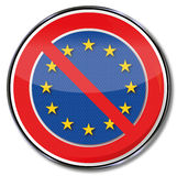 Ευρώπη, κούραση και απόρριψη ελεύθερη απεικόνιση δικαιώματος