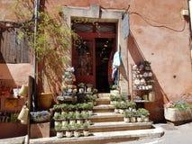 Ευρώπη νότος της Γαλλίας Ένα σπίτι στην Προβηγκία οικοδόμηση παραδοσιακή Στοκ φωτογραφία με δικαίωμα ελεύθερης χρήσης