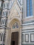Ευρώπη ` s τέταρτος - μεγαλύτερη εκκλησία, στη Φλωρεντία, Ιταλία, Σάντα Μαρία del Fiore στοκ φωτογραφίες