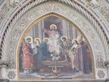 Ευρώπη ` s τέταρτος - μεγαλύτερη εκκλησία, στη Φλωρεντία, Ιταλία, Σάντα Μαρία del Fiore στοκ φωτογραφία