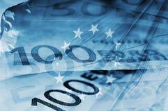 ευρώ ανασκόπησης Στοκ φωτογραφία με δικαίωμα ελεύθερης χρήσης
