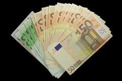 ευρώ δεσμών Στοκ εικόνες με δικαίωμα ελεύθερης χρήσης