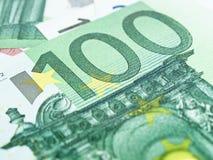 ευρώ εκατό ένα Στοκ Εικόνες