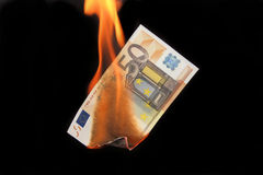 ευρώ κρίσης Στοκ φωτογραφία με δικαίωμα ελεύθερης χρήσης