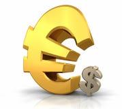 ευρώ κυριαρχίας Στοκ φωτογραφία με δικαίωμα ελεύθερης χρήσης