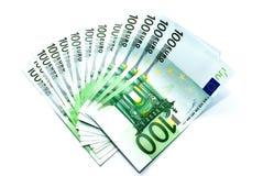 ευρώ λογαριασμών Στοκ Φωτογραφίες