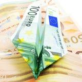 ευρώ λογαριασμών Στοκ Εικόνες