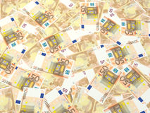 ευρώ λογαριασμών Στοκ εικόνες με δικαίωμα ελεύθερης χρήσης