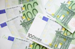ευρώ λογαριασμών Στοκ φωτογραφίες με δικαίωμα ελεύθερης χρήσης