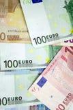 ευρώ λογαριασμών στοκ φωτογραφία