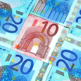 ευρώ νομίσματος Στοκ Εικόνες