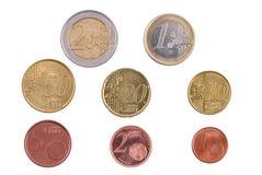 ευρώ νομίσματος Στοκ φωτογραφίες με δικαίωμα ελεύθερης χρήσης