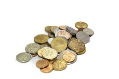 ευρώ νομισμάτων Στοκ φωτογραφία με δικαίωμα ελεύθερης χρήσης