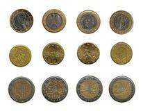 ευρώ νομισμάτων Στοκ Φωτογραφία