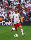 ΕΥΡΏ 2016 παιχνίδι Ουκρανία β UEFA Πολωνία Στοκ φωτογραφία με δικαίωμα ελεύθερης χρήσης