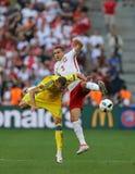 ΕΥΡΏ 2016 παιχνίδι Ουκρανία β UEFA Πολωνία Στοκ Φωτογραφία