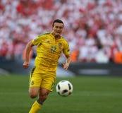 ΕΥΡΏ 2016 παιχνίδι Ουκρανία β UEFA Πολωνία Στοκ Φωτογραφίες