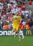 ΕΥΡΏ 2016 παιχνίδι Ουκρανία β UEFA Πολωνία Στοκ εικόνες με δικαίωμα ελεύθερης χρήσης