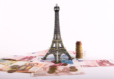 Ευρώ, Παρίσι Στοκ Εικόνα