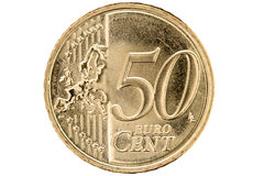 ευρώ πενήντα σεντ Στοκ Φωτογραφία