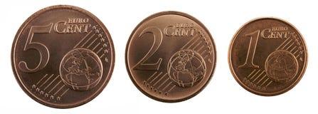 ευρώ σεντ Στοκ εικόνες με δικαίωμα ελεύθερης χρήσης