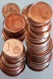 ευρώ σεντ Στοκ εικόνα με δικαίωμα ελεύθερης χρήσης