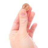 2 ευρώ σεντ Στοκ Εικόνες