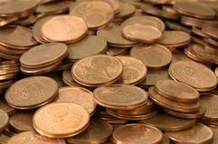 ευρώ σεντ Στοκ Εικόνα