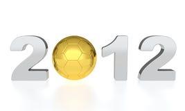 ευρώ του 2012 Στοκ εικόνες με δικαίωμα ελεύθερης χρήσης