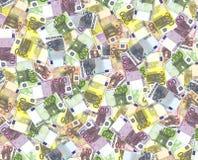ευρώ τραπεζογραμματίων Στοκ Εικόνες