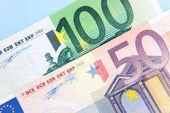 150 ευρώ Στοκ Φωτογραφίες