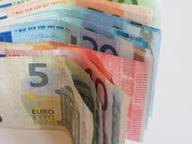Ευρώ & x28 EUR& x29  σημειώσεις, Ευρωπαϊκή Ένωση & x28 EU& x29  Στοκ φωτογραφία με δικαίωμα ελεύθερης χρήσης