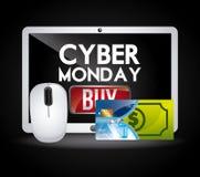 Δευτέρα Cyber Στοκ φωτογραφίες με δικαίωμα ελεύθερης χρήσης