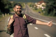 ευτυχές άτομο Έννοια θερινών διακοπών Στοκ φωτογραφίες με δικαίωμα ελεύθερης χρήσης