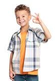 Ευτυχές αγόρι Στοκ εικόνα με δικαίωμα ελεύθερης χρήσης