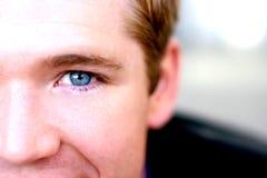ευτυχές αρσενικό προσώπου Στοκ Φωτογραφίες