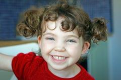 Ευτυχές γέλιο παιδιών πορτρέτου Στοκ Εικόνα