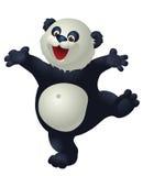 Ευτυχές ευτυχές panda Διανυσματική απεικόνιση