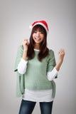 Ευτυχές εύθυμο κορίτσι Χριστουγέννων Στοκ φωτογραφία με δικαίωμα ελεύθερης χρήσης