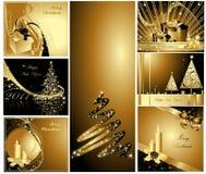 ευτυχές εύθυμο νέο έτος &Chi διανυσματική απεικόνιση