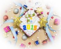 ευτυχές εύθυμο νέο έτος &Chi Στοκ φωτογραφία με δικαίωμα ελεύθερης χρήσης