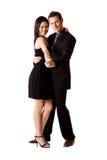 ευτυχές ζευγάρι χορού Στοκ Εικόνες