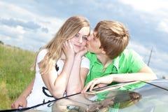 ευτυχές ζευγάρι Στοκ φωτογραφία με δικαίωμα ελεύθερης χρήσης