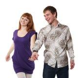 ευτυχές ζευγάρι στοκ εικόνα