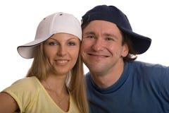 ευτυχές ζευγάρι Στοκ Φωτογραφίες