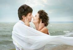 Ευτυχές ζεύγος στοκ φωτογραφίες