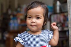Ευτυχές κορίτσι κατσικιών Στοκ Εικόνα