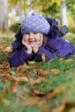 Ευτυχές κορίτσι Στοκ Εικόνες