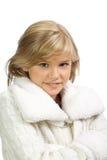 ευτυχές λευκό κοριτσιώ&n Στοκ φωτογραφία με δικαίωμα ελεύθερης χρήσης
